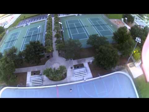 DJI Drone Englewood Beach Каникулы во Флориде