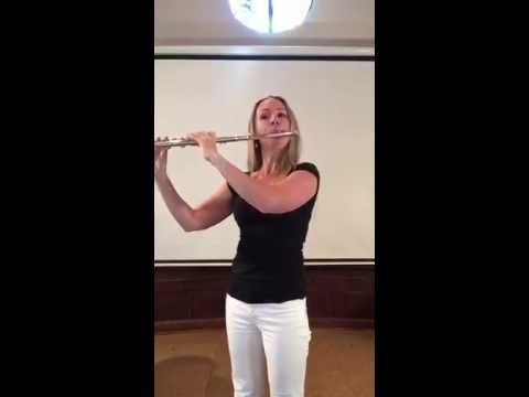 "Anne Allen - ""Hymn to the Sea"" (Flute Cover) - James Horner"