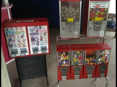 VENDING MACHINE BUSINESS: Ups and Downs, Losing Locations & Collecting