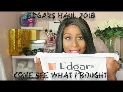 Haul  See What I Bought at Edgars  South African Beauty Blogger
