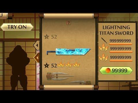 Shadow Fight 2 The Most Powerful Lightning Titan Sword