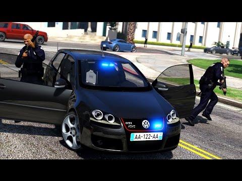 GTA 5 : POLICE NATIONALE #3 | Véhicule banalisé