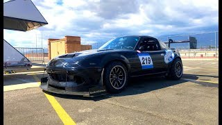 homepage tile video photo for The Magic of a 600HP Miata - (Track) One Take