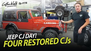 It's CJ Day! Jeep Restoration done RIGHT.