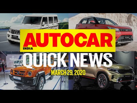 Mahindra Bolero Facelift, XUV300 BS6 And COVID-19 Affects Auto Industry | Quick News | Autocar India