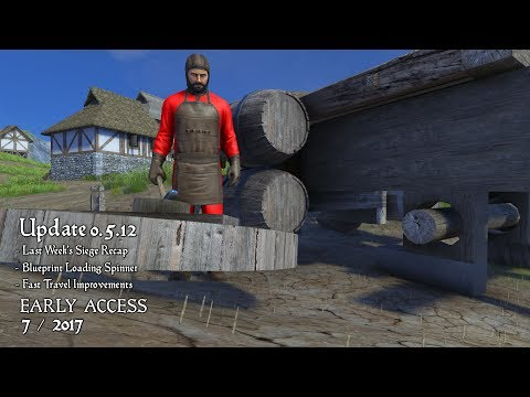 Medieval Engineers - Update 0.5.12 - You Spin Me Right Round |