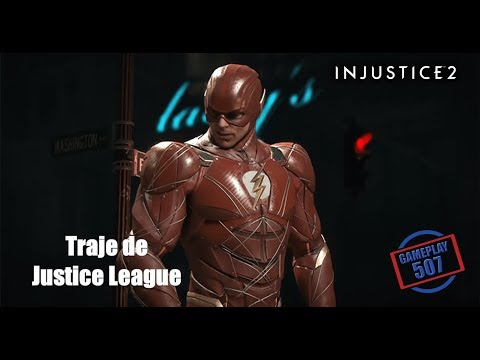 Injustice 2: Flash - Traje de The Justice League