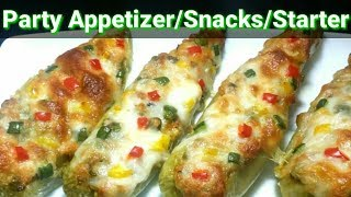 Delicious Party Appetizers |Easy & Quick Party Snacks |Veg Special Starter With Twist by (SAHANA)