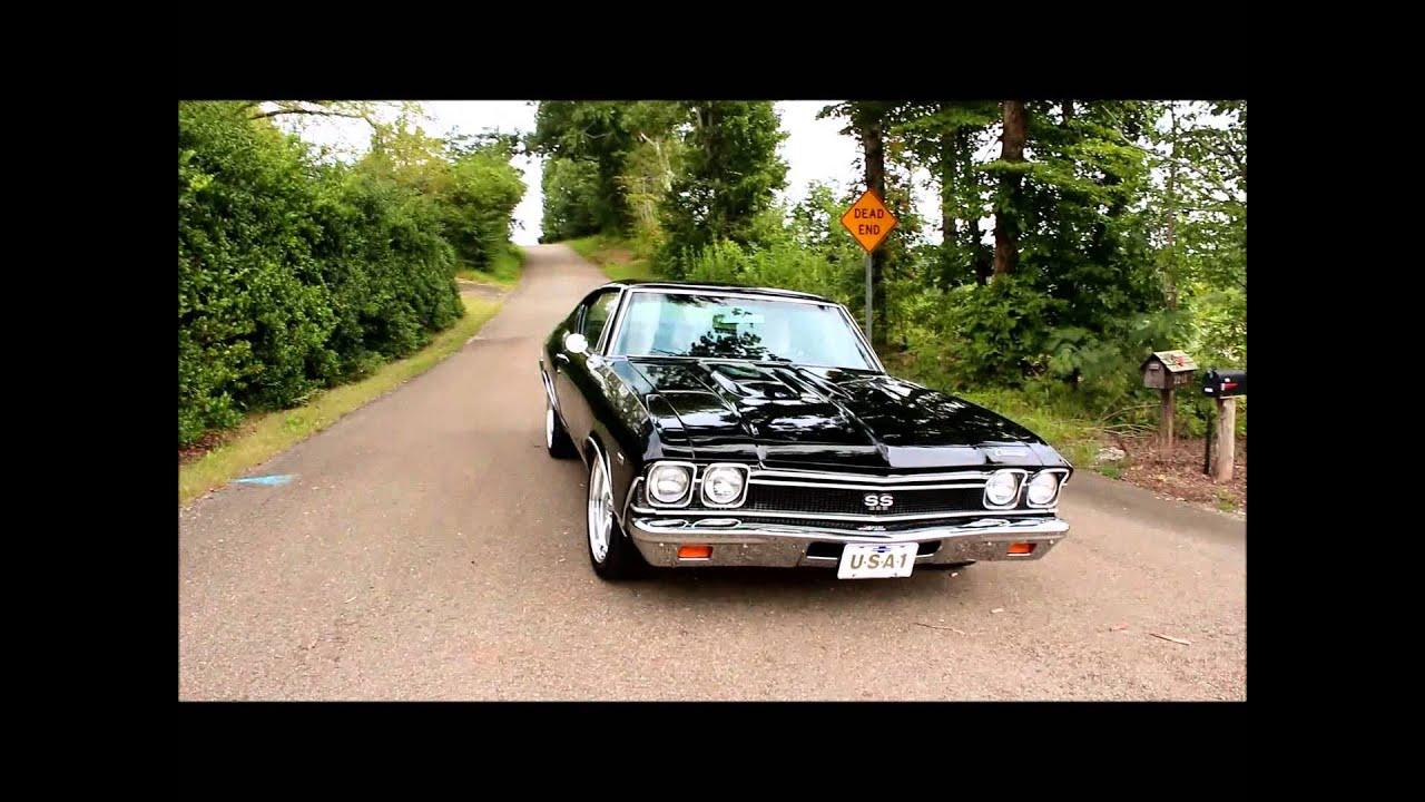 1968 Chevy Chevelle Black Big Block 4 Speed - YouTube