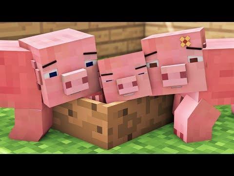 Pig Life - Minecraft Animation