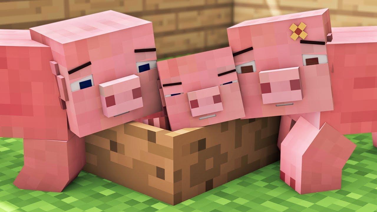 Pig Life Minecraft Animation Youtube