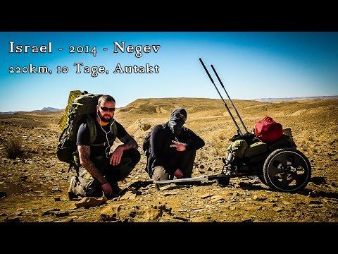 220km, 10 Tage - Autarkt zu Fuß durch die Negev Wüste in Israel