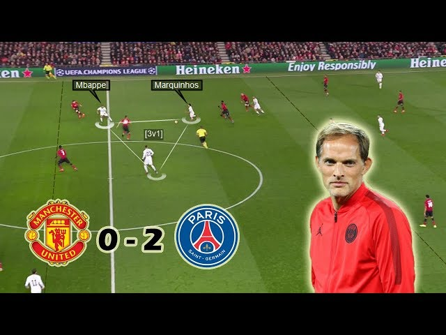 How Tuchel Ended Solskjærs Undefeated Run | Man United vs PSG 0-2 | Tactical Analysis