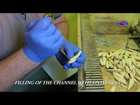 Making Of Monarch Dok Fishing Lures, Step By Step