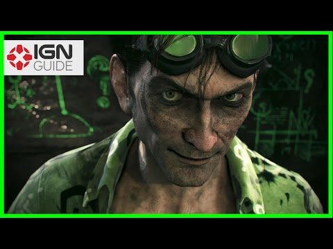 Batman Arkham Knight: Stagg Airships Riddler Trophies Part Two