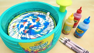 Crayola Spin Art Maker DIY Toy Primary Colors Toy Reviews For You