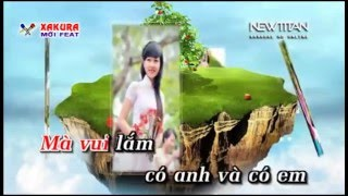 Karaoke [TAN NHAC] Lấy chồng xa xứ - song ca Xakura
