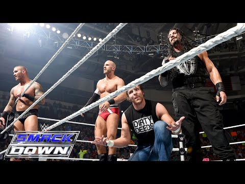 8Man Tag Team Match: SmackDown, Aug 20, 2015