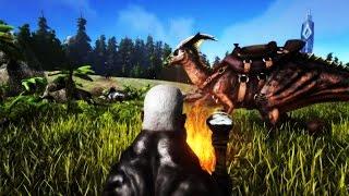 DETSTARTERIGJENFORHÆLVETE | Ark Survival Evolved EP1S4 | Norsk Gaming