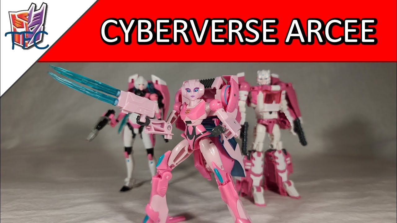 TF Collector Cyberverse Arcee Review!