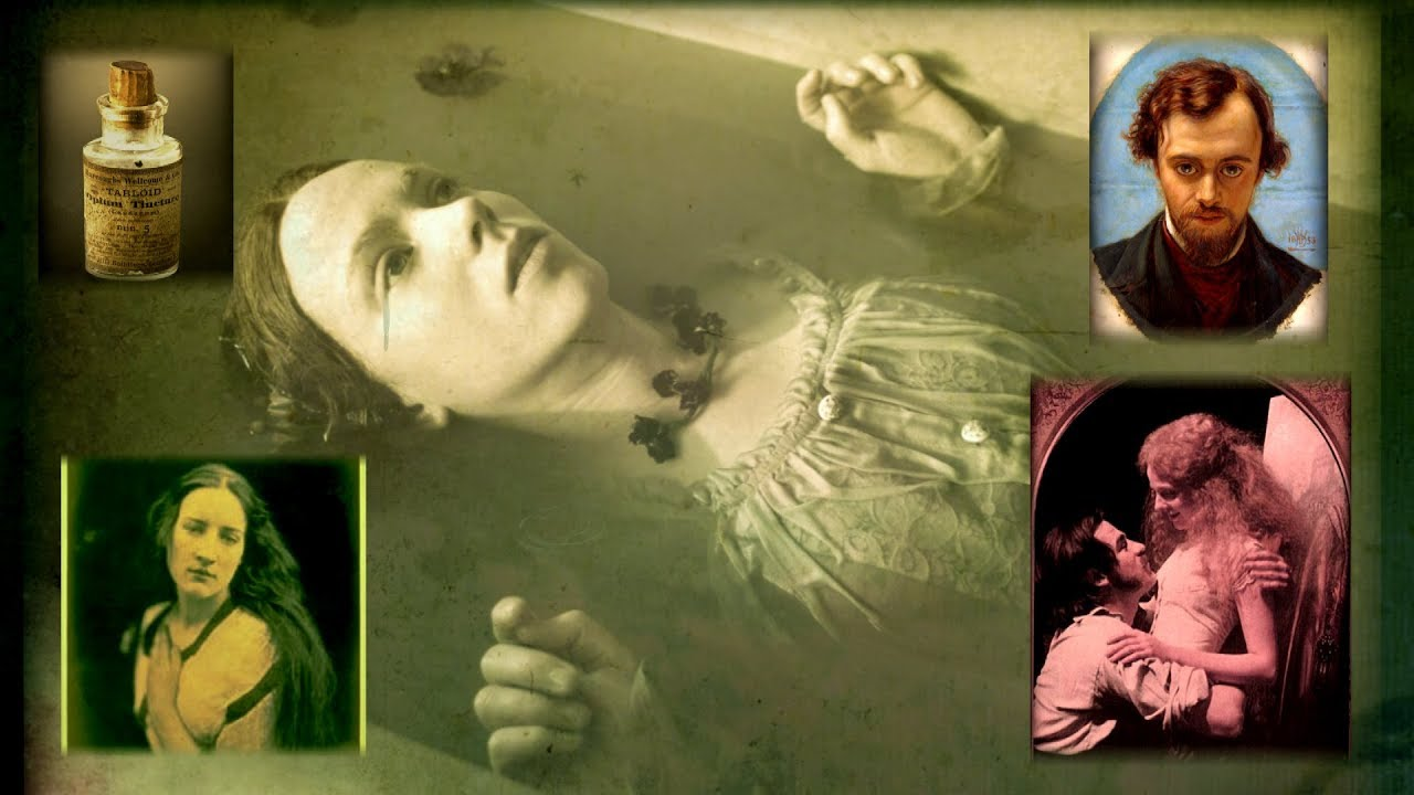 Love & Drugs in Victorian London - Elizabeth Siddal - The Beauty in the Bathtub