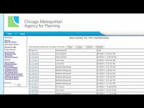 Chicago Metro Area Planning Tutorial