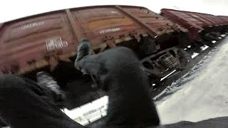 Train Surfing FAIL (How NOT To Approach a Train)