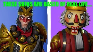5 Skins that are BASED off REAL Life People/Characters in Fortnite!