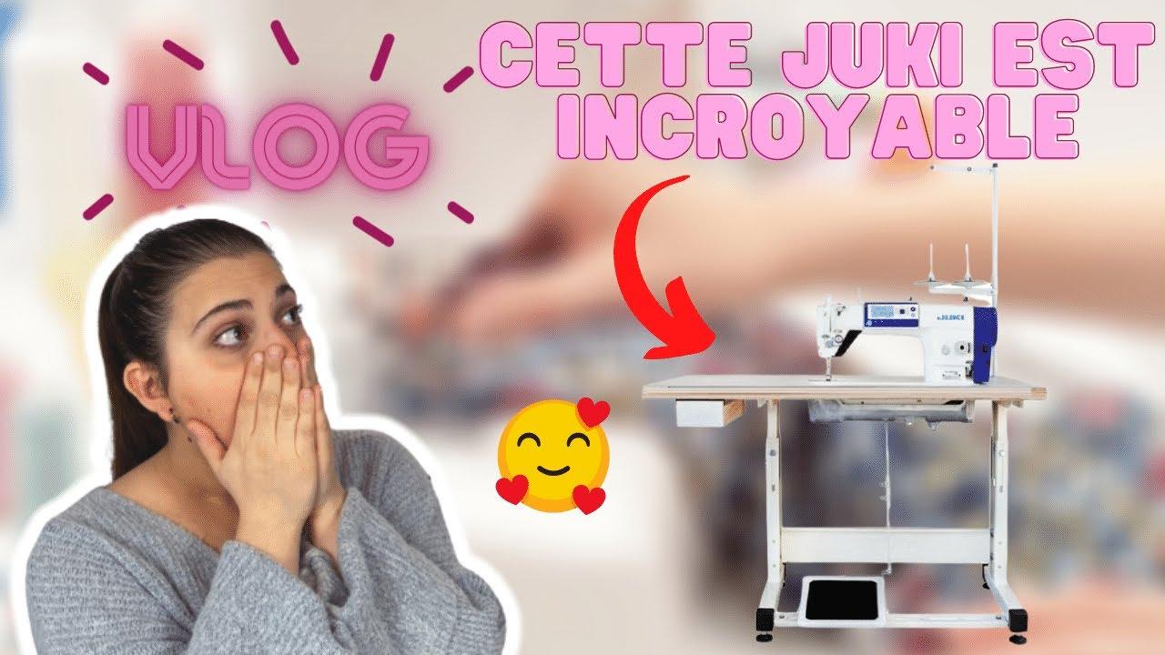Download Vlog à l'atelier - Découverte de la JUKI 8000A 🧵🌸