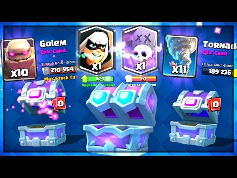 DRAFT CHEST + 2 EPIC CHESTS Clash Royale