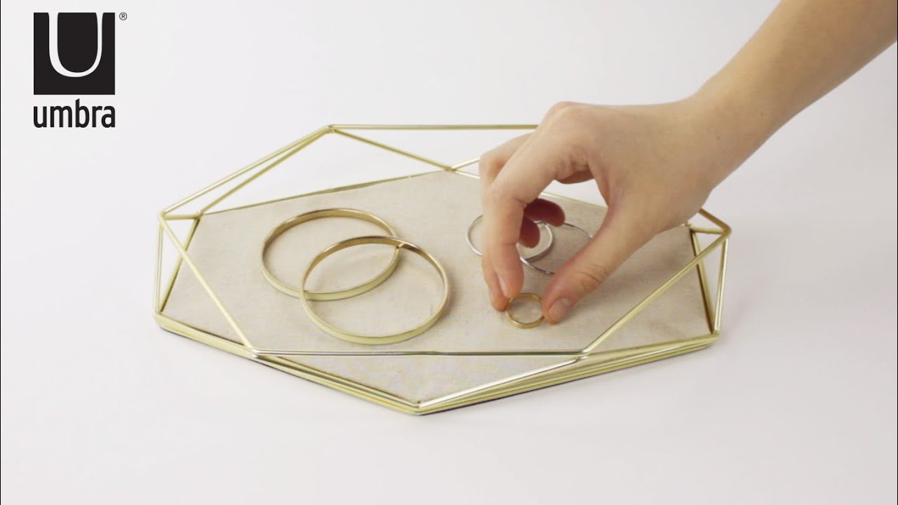 prisma jewelry tray umbra youtube