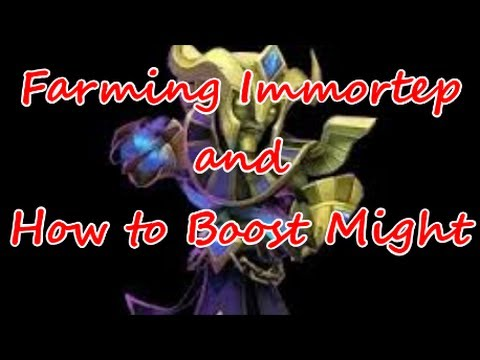 Castle Clash Farming Immortep And Tips On Raising Might