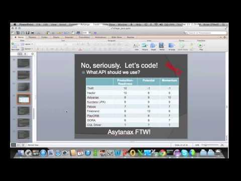 Cassandra Community Webinar | Creating Your First Java App