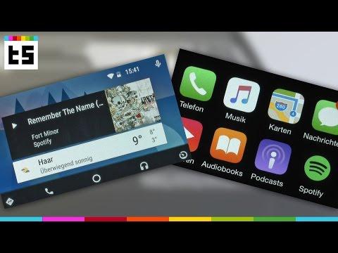 Android Auto vs. Apple CarPlay: Was ist besser?