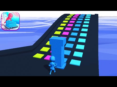 STACK COLORS! game MAX LEVEL 👸🌈💜 Gameplay All Levels Walkthrough iOS, Android New Game Pro Update