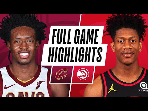 CAVALIERS at HAWKS | FULL GAME HIGHLIGHTS | January 2, 2021