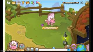 Animal Jam: I traded my light pink headdress!