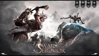 WARS OF SEIGNIOR ANDROID GAMEPLAY