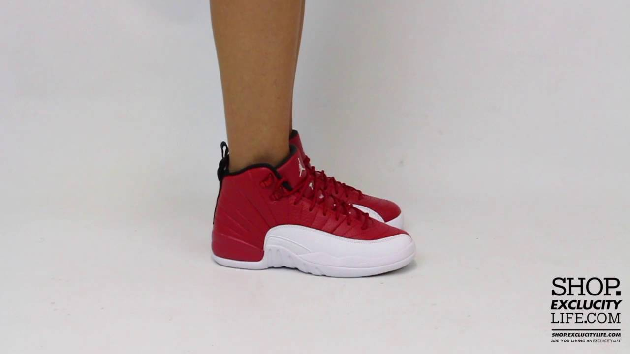 the best attitude ffcdf dc48f Women's BG Air Jordan 12 Retro Gym Red Video at Exclucity