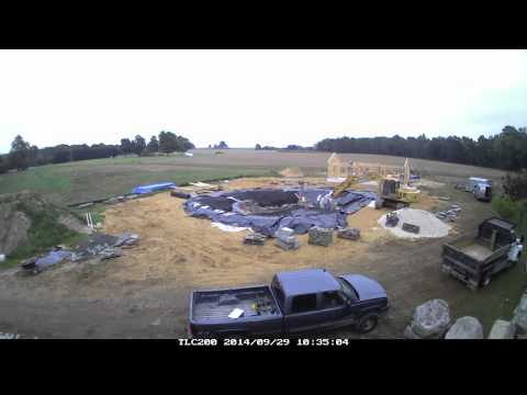 Time Lapse Natural Swimming Pool Youtube