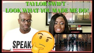 Taylor Swift - Look What You Made Me Do | Couple Reacts