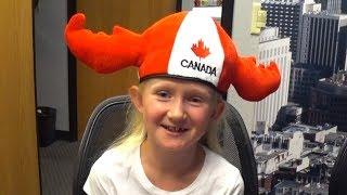 Канада или США? Вся правда о канадском детстве - 8-летняя Стефания из Торонто на нашем канале