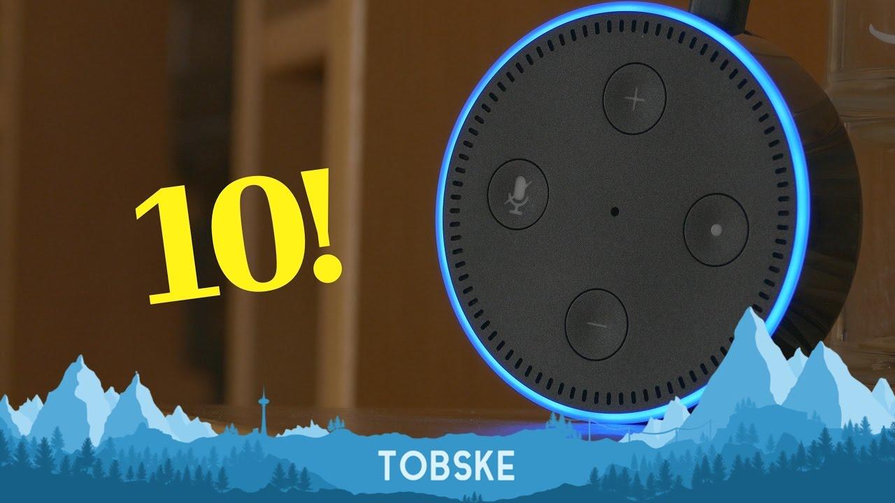 10 ungewöhnliche Dinge - die du Alexa sagen kannst! - YouTube