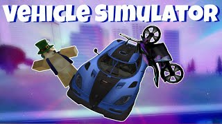 Roblox Vehicle Simulator Funny Moments