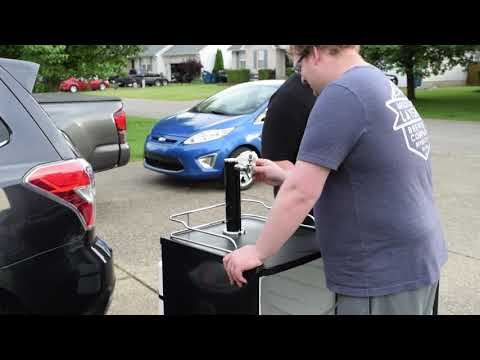 We Bought a Kegerator!  Part 1: The Cleaning!
