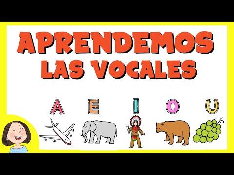 Aprendemos las vocales | Juego educativo para niños