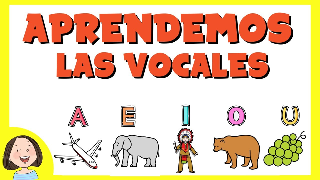 Aprendemos Las Vocales Juego Educativo Para Ninos Youtube