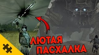 ЛЮТАЯ ПАСХАЛКА!! - Как открыть меч ДОРМИНА? Shadow of The Colossus