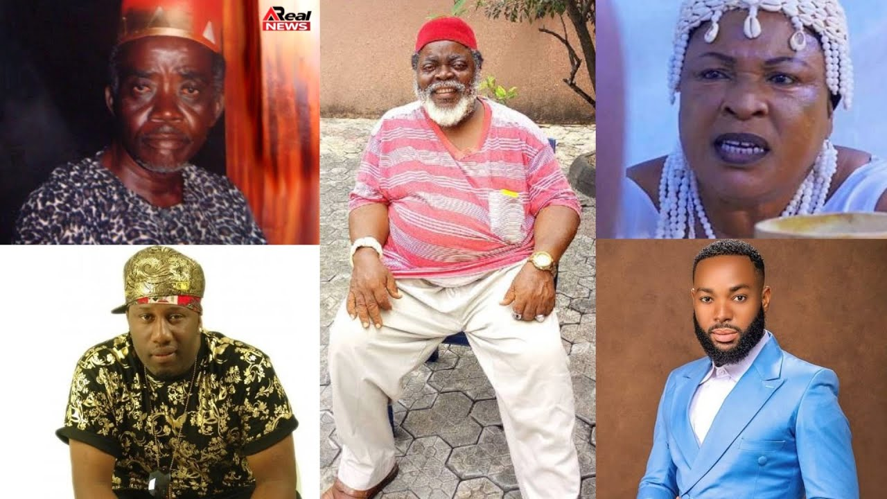 Download 5 Prominent Nollywood Actors Who Already Died In January 2021