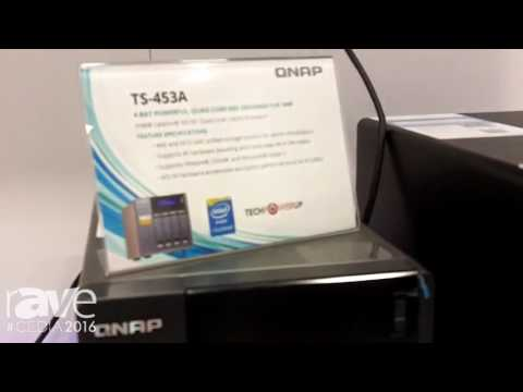 CEDIA 2016: QNAP Talks About Data Storage Solutions
